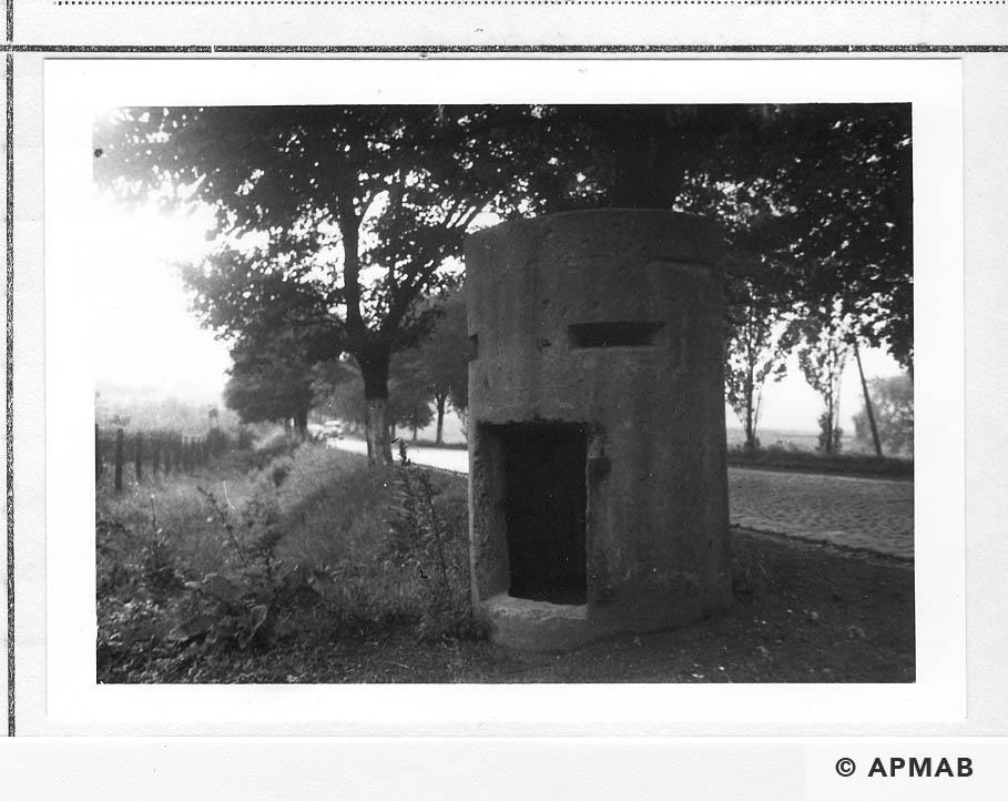 AIr raid bunker. 1960 APMAB 21304 9