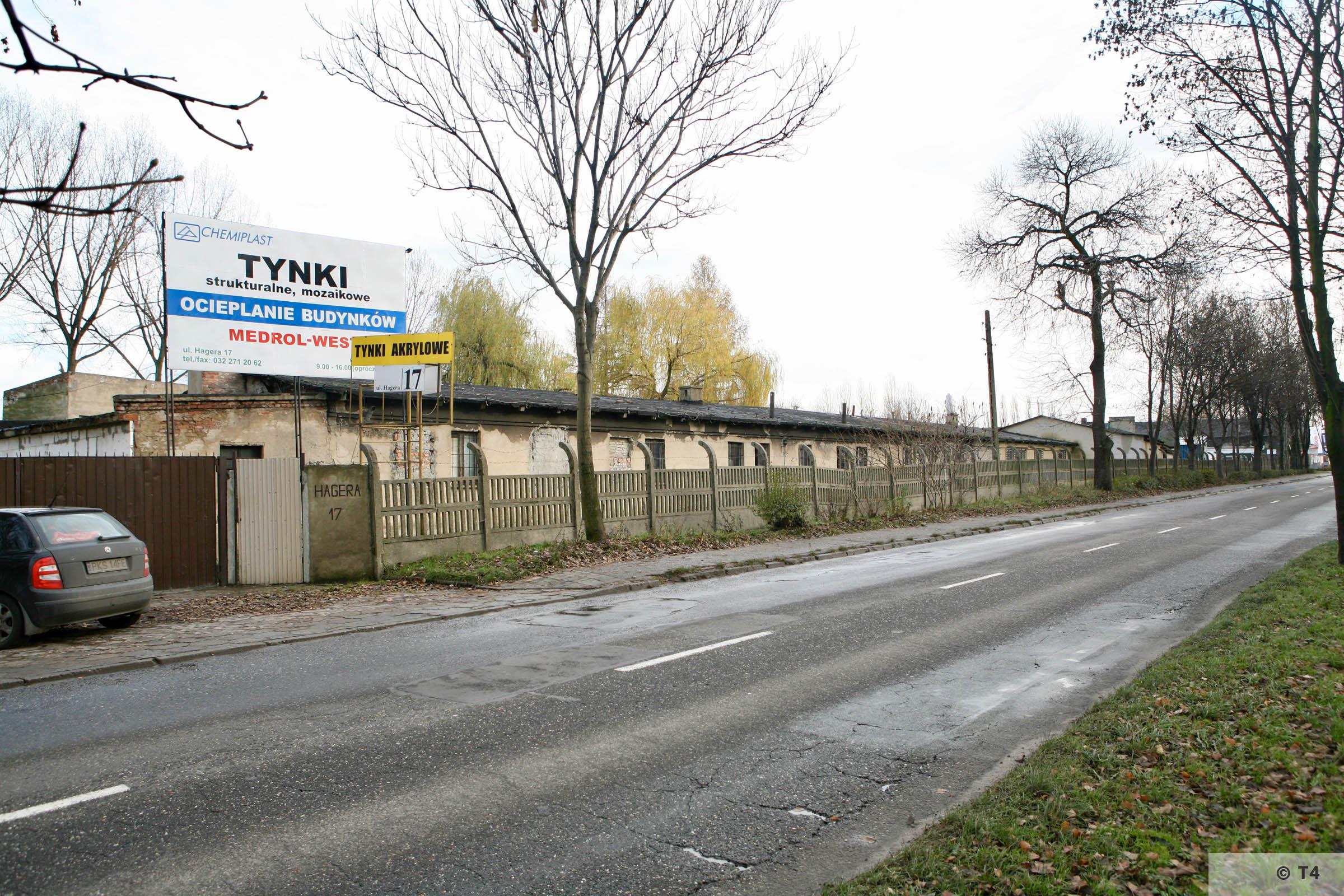 Accomodation barracks of the sub camp Hindenburg. 2007 T4 4128