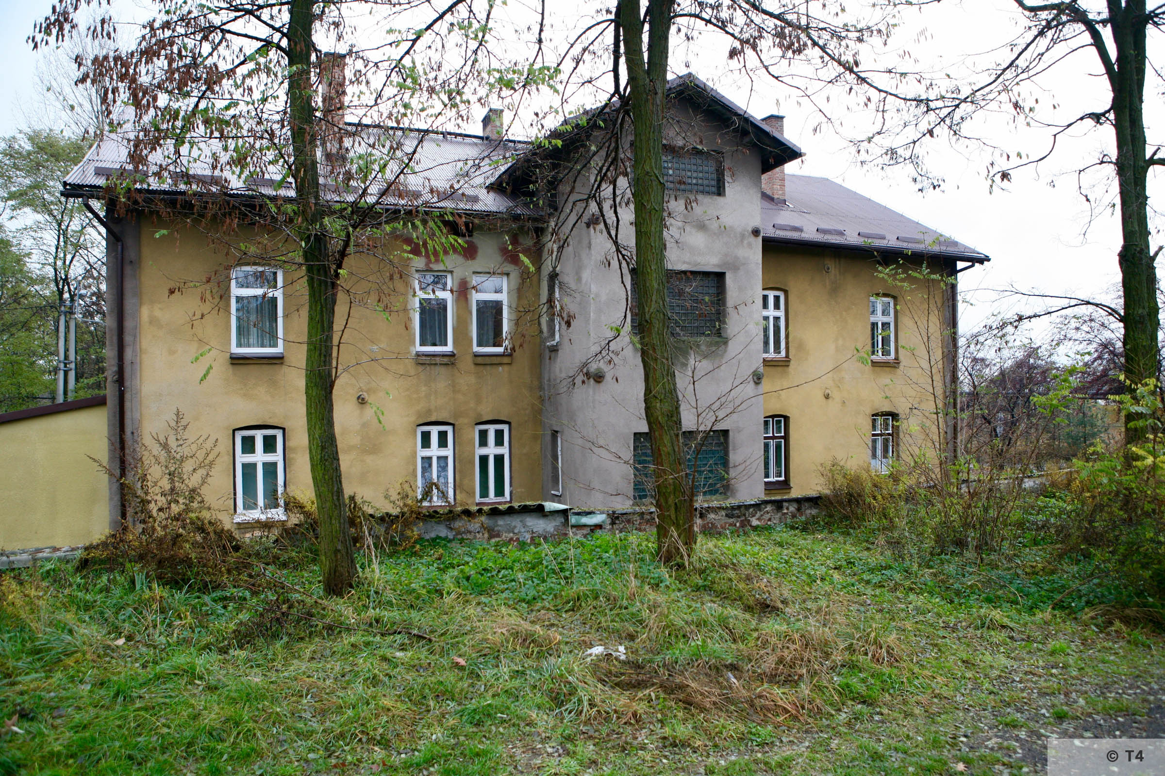 Administrative block, accomodation for prisoners and prisoner cells. 2007 T4 3285