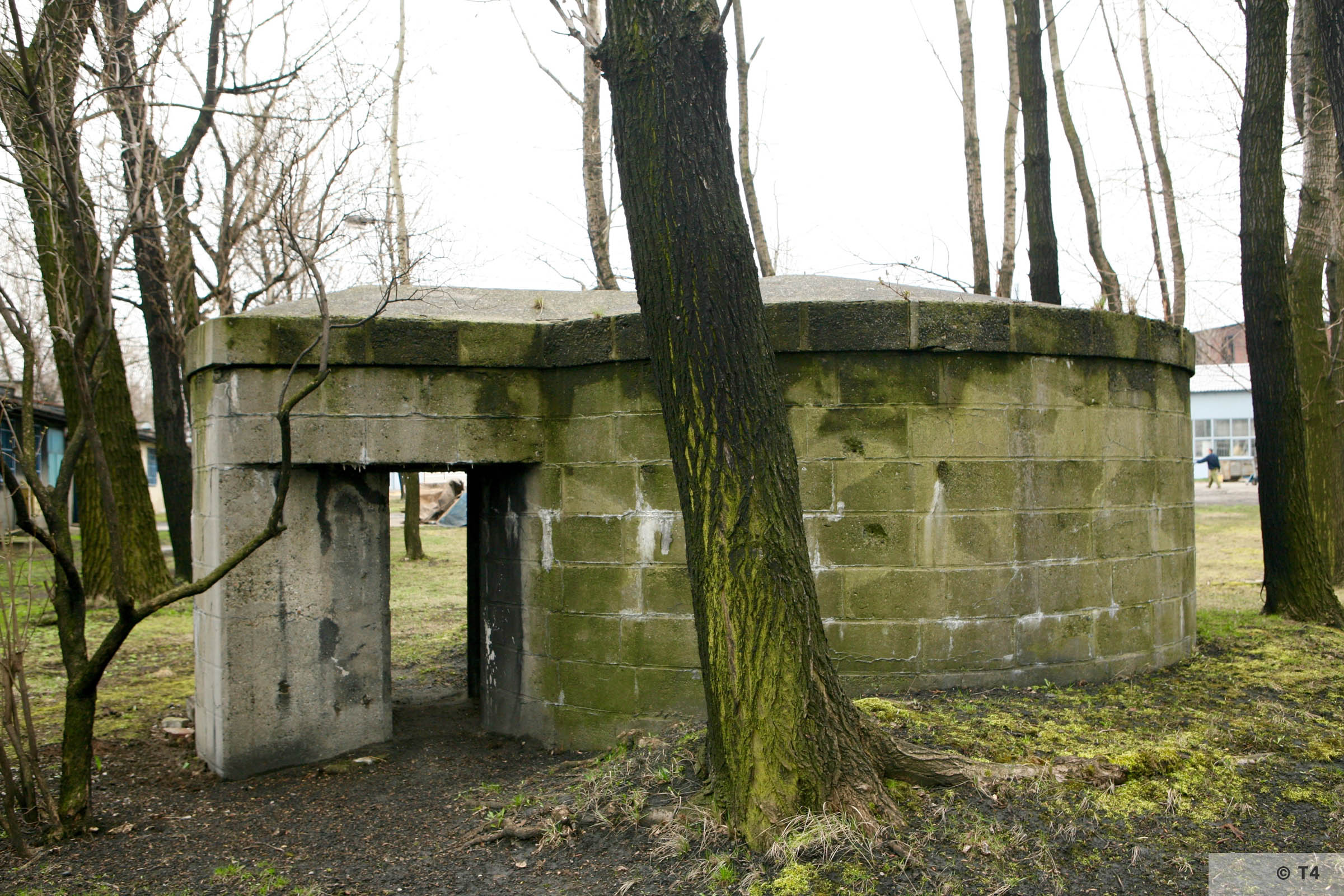 Air raid bunker in former SS area. 2007 T4 5105