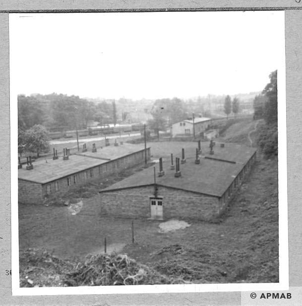 Annarampe barracks where prisoners lived 1966 APMAB 9775