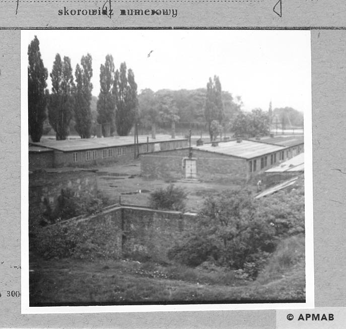Annarampe water basin, barrack for prisoners and strorehouse. 1966 APMAB .9782