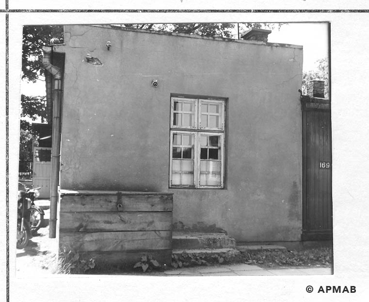 Annexe to the barrack No 1. 1968 APMAB 14336