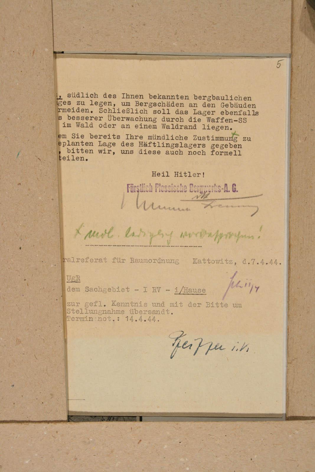 Archiwum Panstwowe w Katowicach Land Pl 12 120 708 05