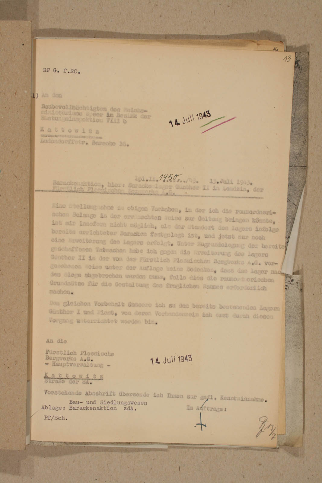 Archiwum Panstwowe w Katowicach Land Pl 12 120 708 13