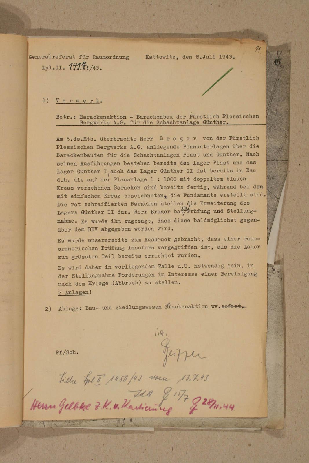 Archiwum Panstwowe w Katowicach Land Pl 12 120 708 14