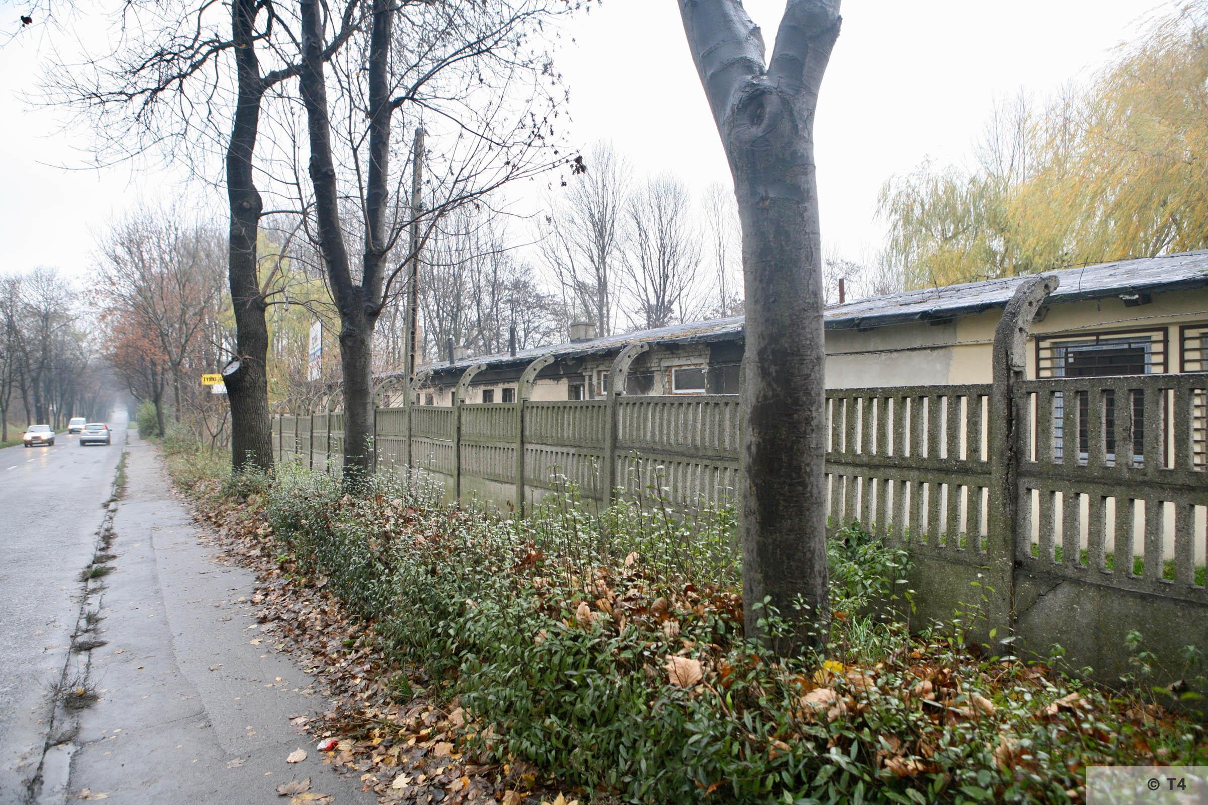 Area of Hindenburg sub camp. Prisoner barrcks on the right. 2007 T4. 3653