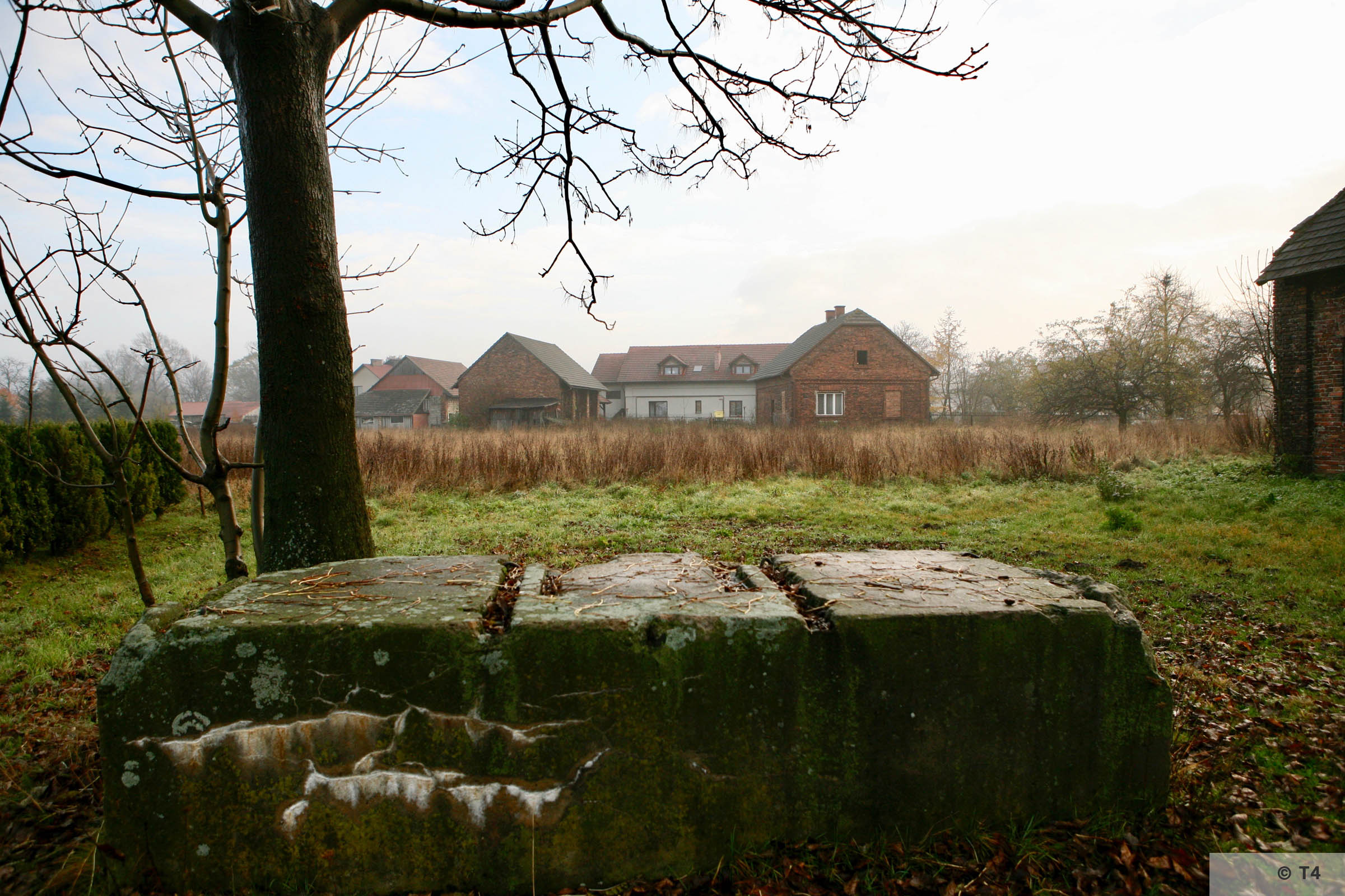 Area of the former sub camp. 2007 T4 2931