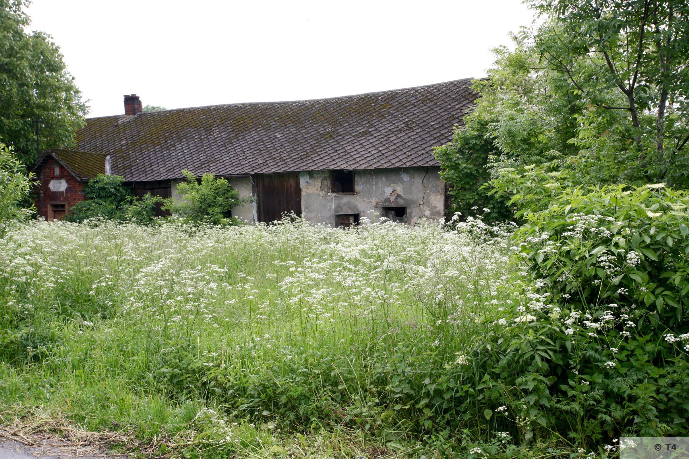 Barn in Babice village. 2007 T4 4904