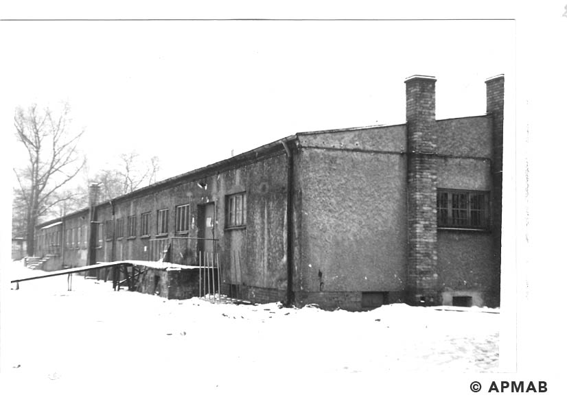 Barrack for prisoners. 1969 APMAB14783