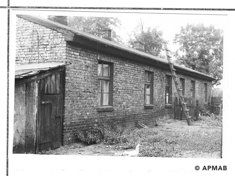 Barracks for prisoners 1967 APMAB 11220