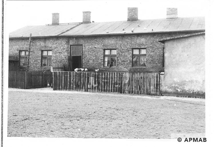 Barracks for prisoners. 1967 APMAB 11218