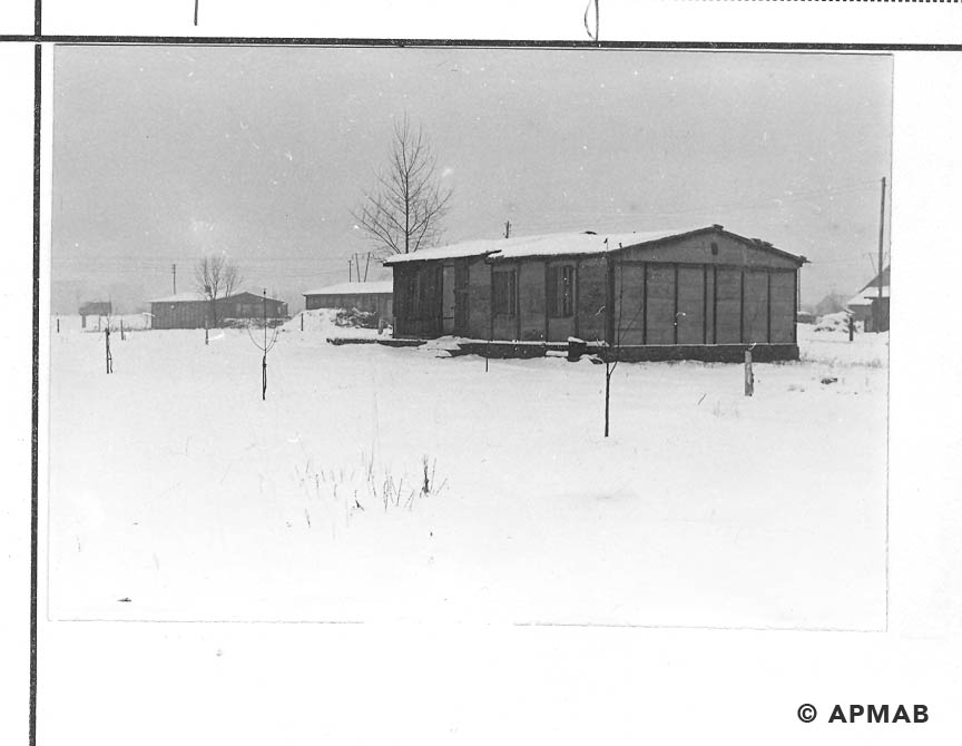 Barracks for re-education prisoners. 1968 APMAB 13962