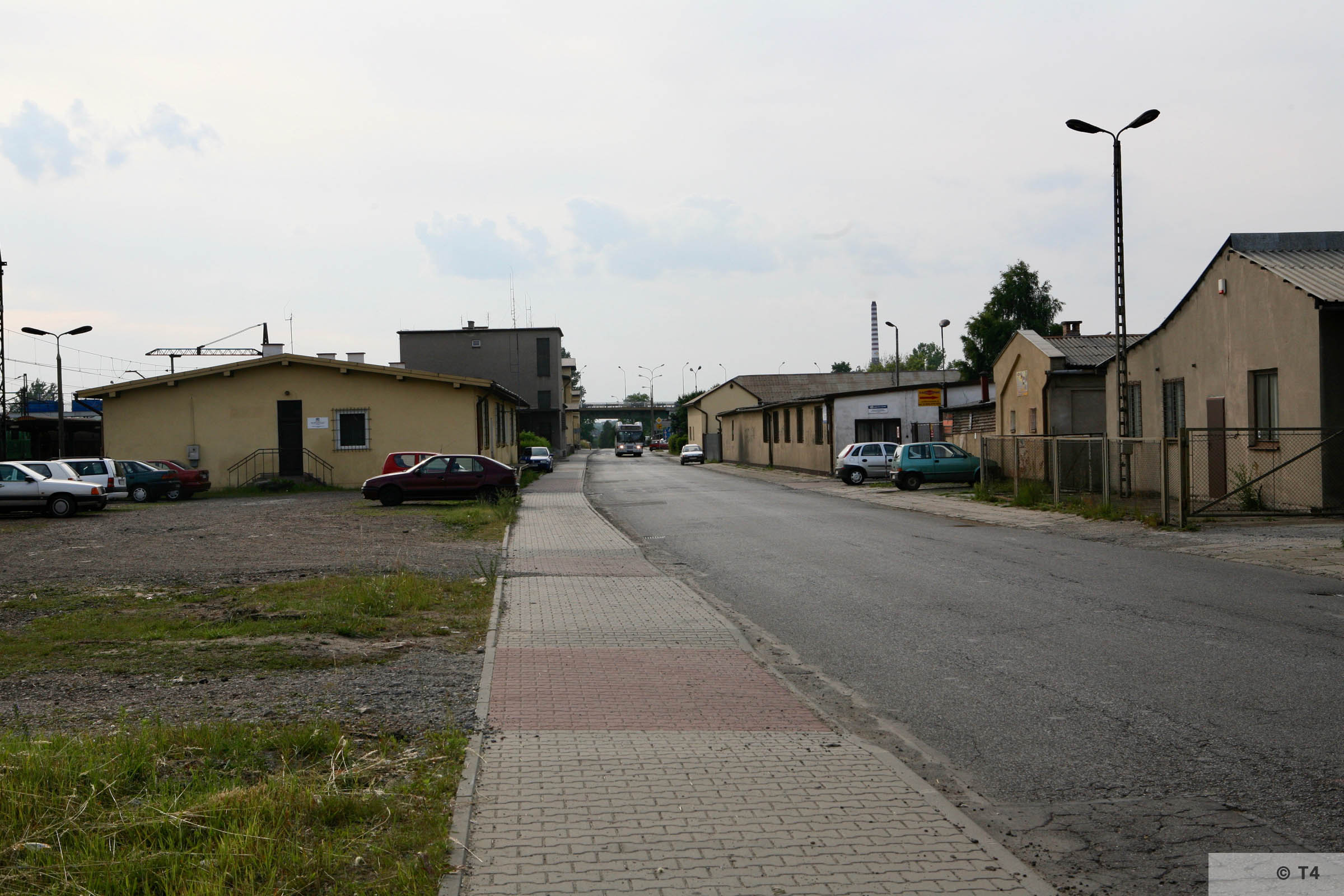 Barracks near Trzebinia railway station. 2007 T4 4748