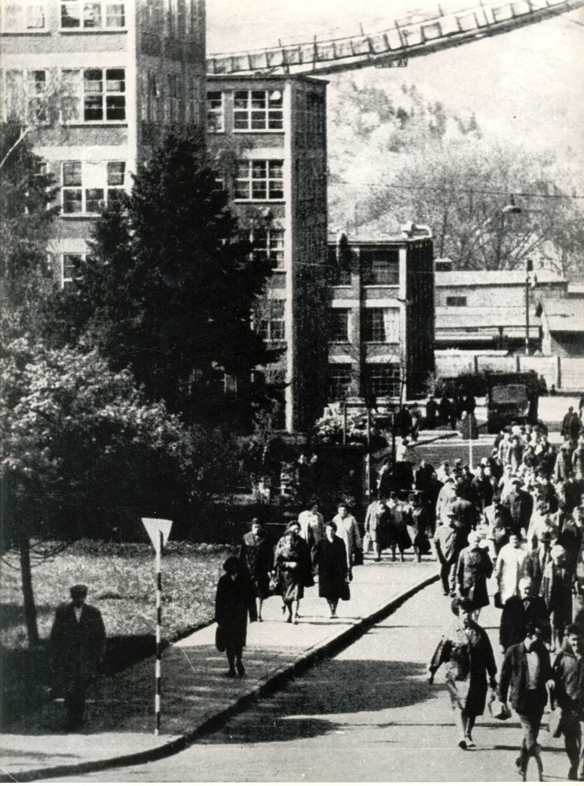 Bata factory 1960s Tomasz Batta Memorial House
