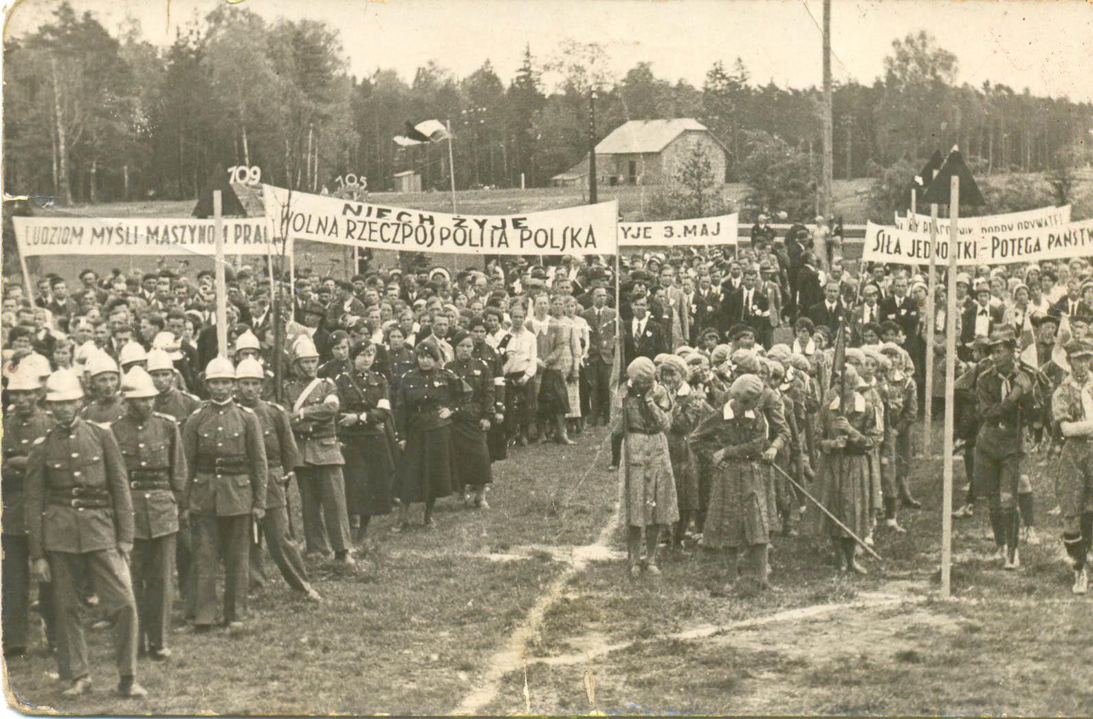 Bata factory parade. Tomasz Batta Memorial House