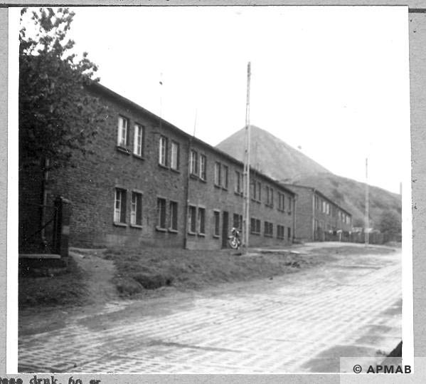 Berlin camp barracks for Jewish prisoners. 1966 APMAB .9789