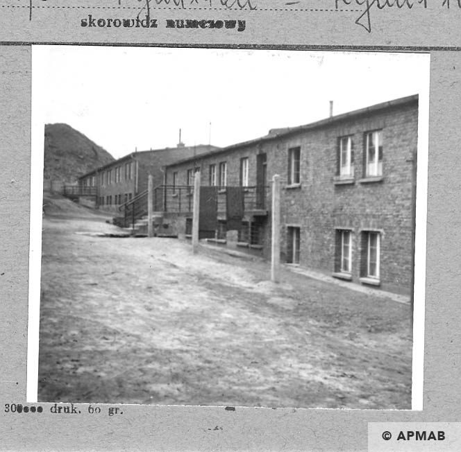 Berlin camp barracks for prisoners 1966 APMAB 9790