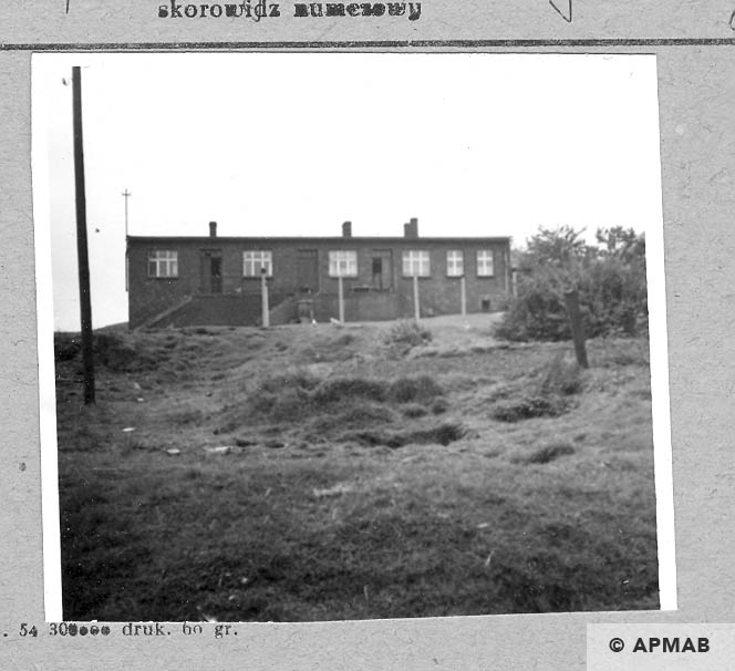 Berlin camp barracks for prisoners. 1066 APMAB 9791
