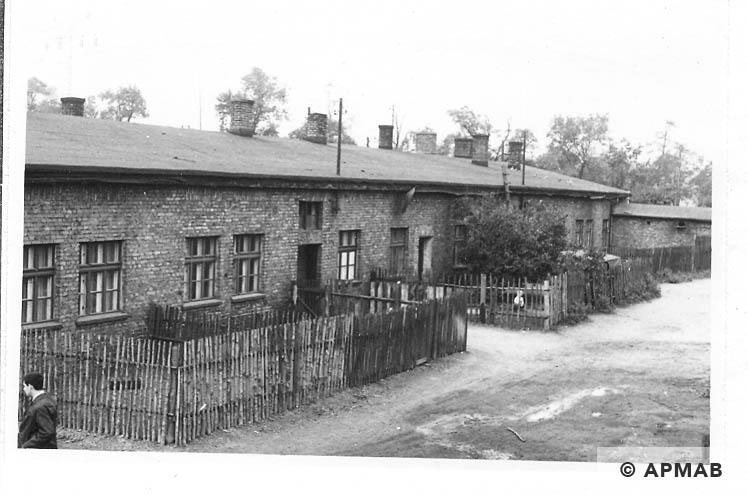 Blockführerstube, kitchen for prisoners and barrack for SS 1967 APMAB 11201