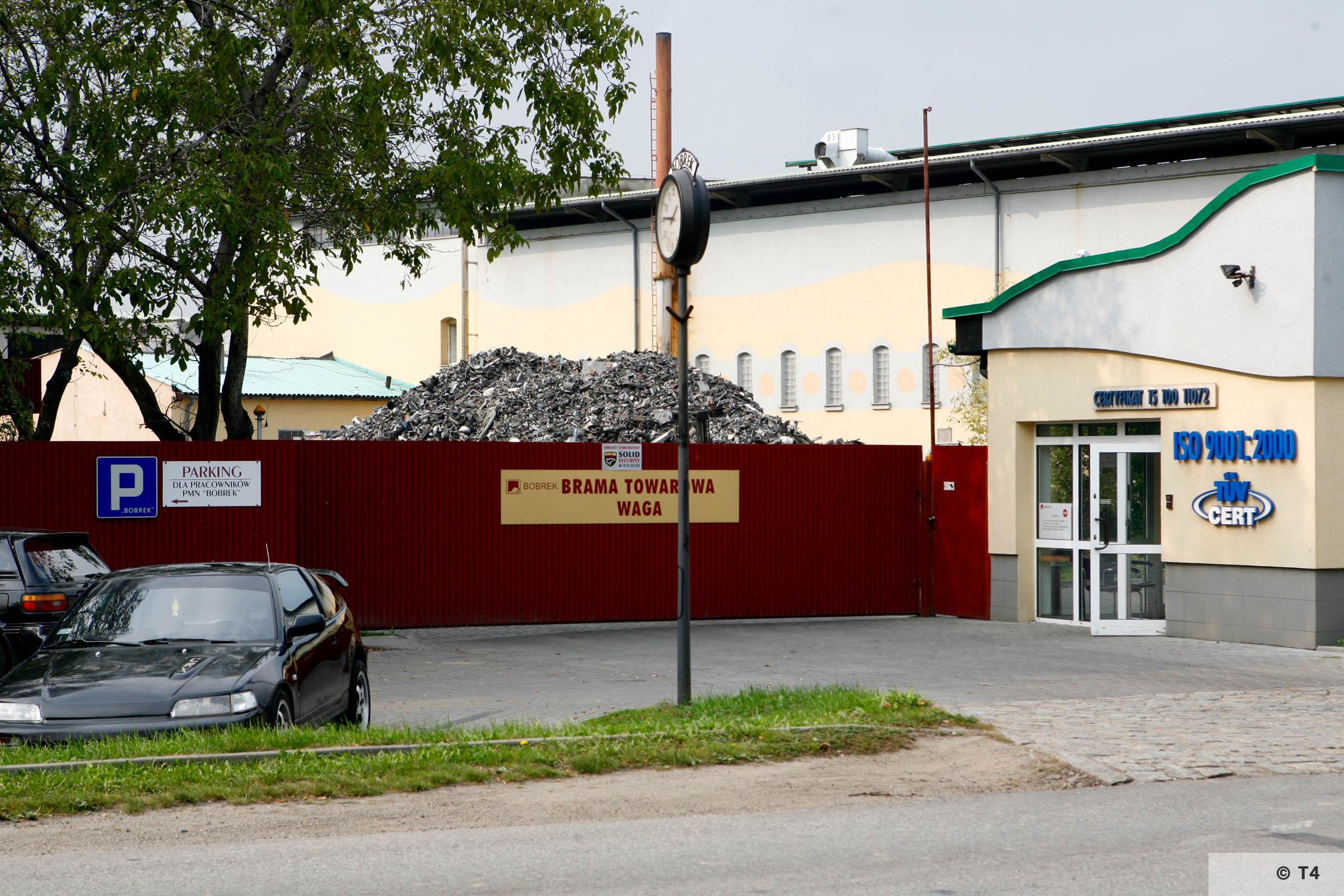 Bobrek factory. 2006 T4 1647