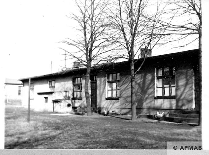 Brick barrack kitchen and canteen for SS.1967 APMAB.10626