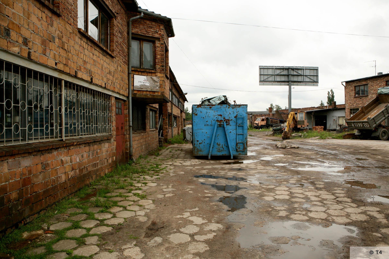 Brickyard at ul Ceglana Katowice. 2007 T4 9473