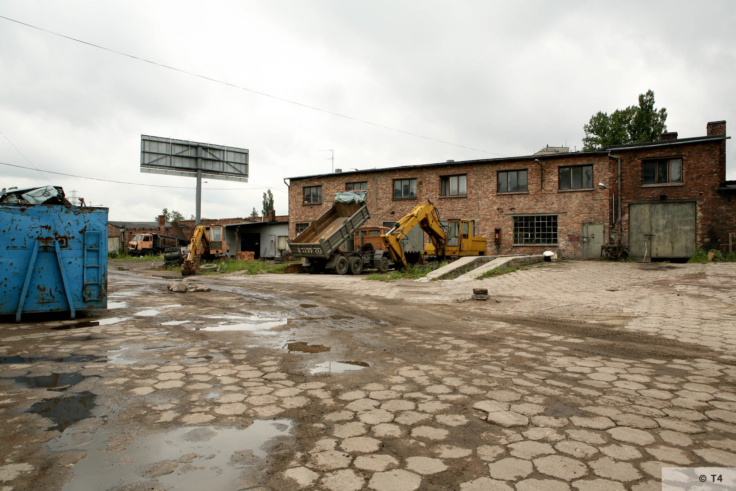 Brickyard at ul Ceglana in Katowice where the prisoners lived. 2007 T4 9474