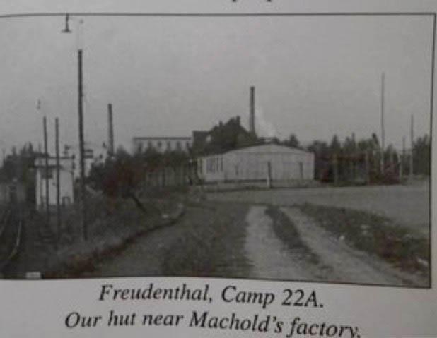British POW camp Freudenthal. John Jay