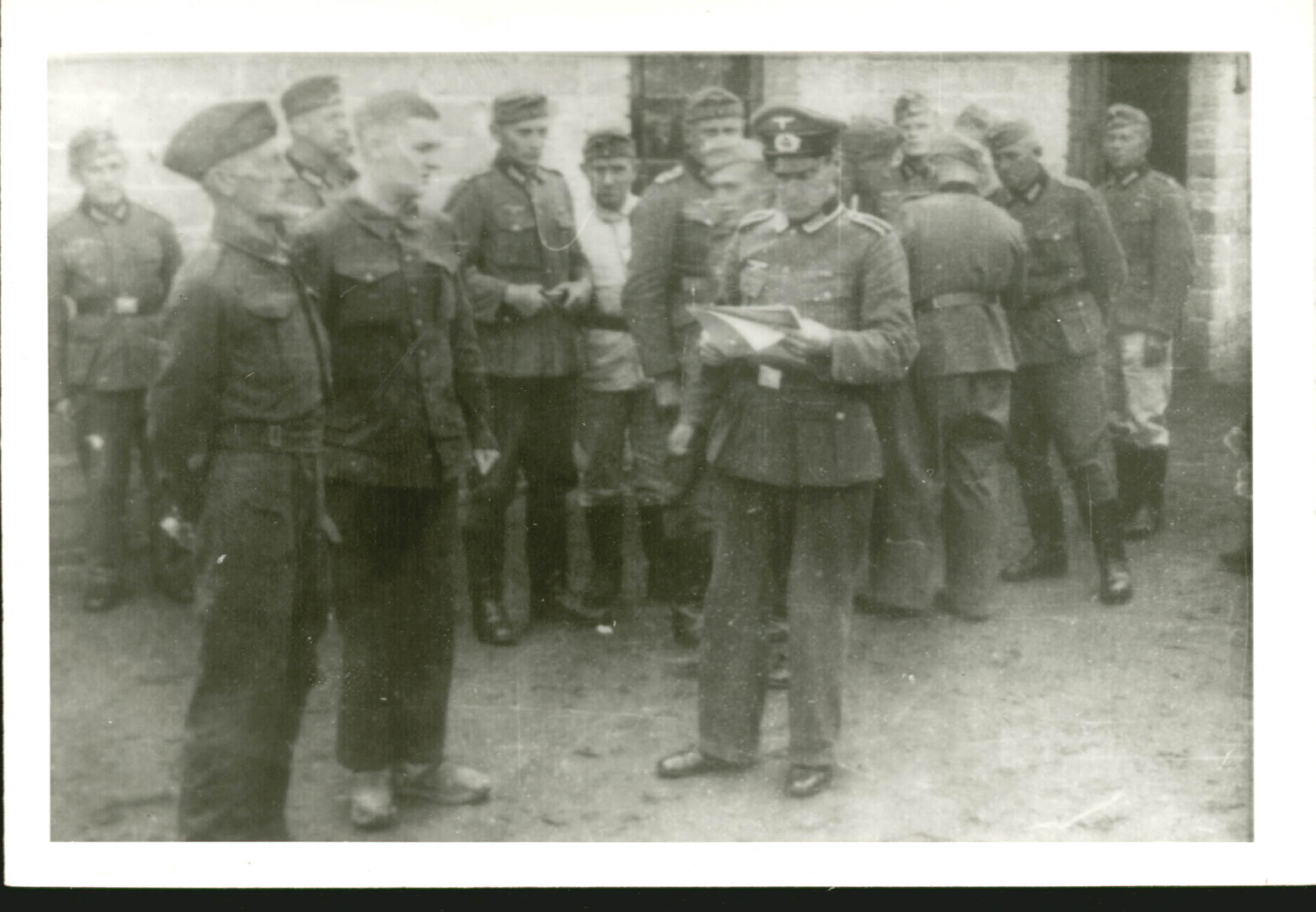 British Prisoners of War Blechhammer. Ociepski