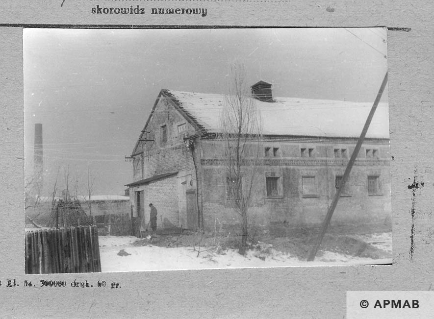 Building for prisoners. 1959 APMAB 6113