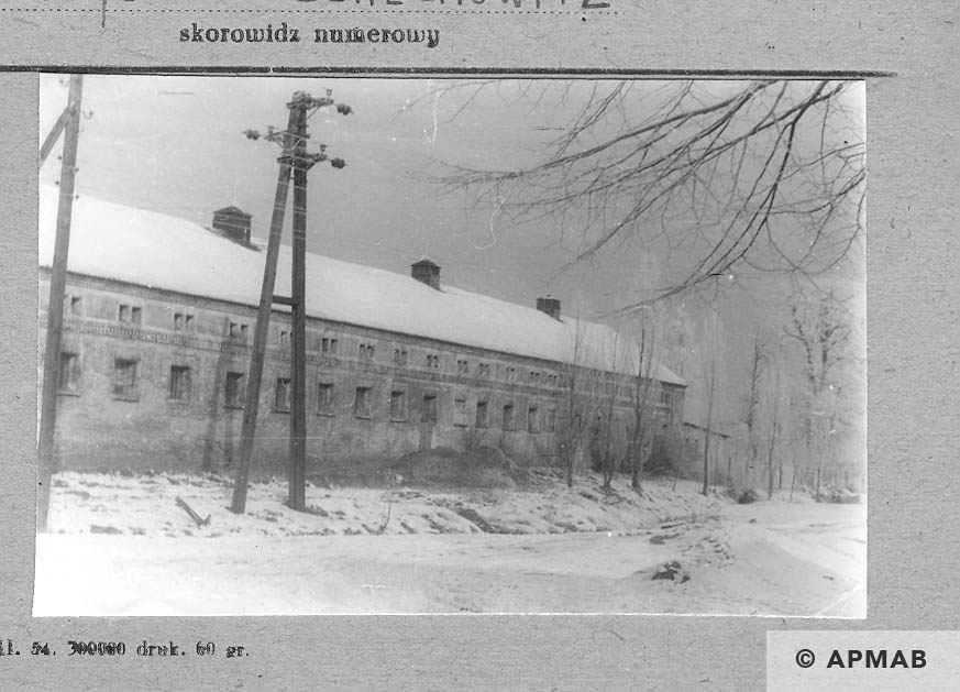 Building for prisoners. 1959 APMAB 6114