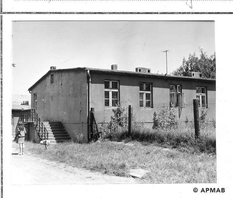 Building in the camp area. 1968 APMAB 14341