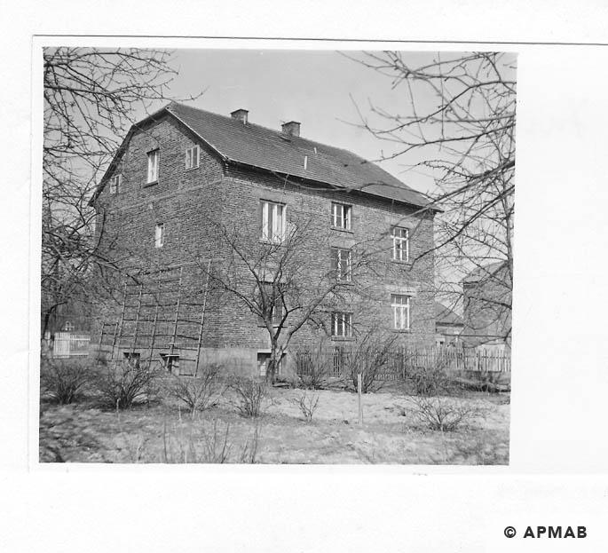 Building of Hygiene Institut der Waffen SS in Auschwitz. 1968 APMAB 15474