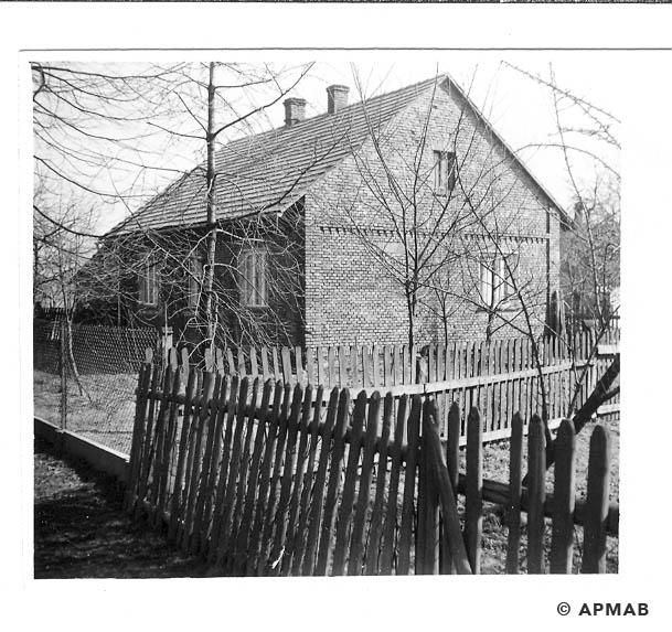 Building of Hygiene Institut der Waffen SS in Auschwitz. 1968 APMAB 15475