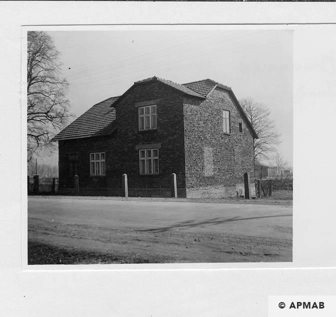 Building of Hygiene Institut der Waffen SS in Auschwitz. 1968 APMAB 15476