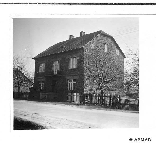 Building of Hygiene Institut der Waffen SS in Auschwitz.1968 APMAB 15472