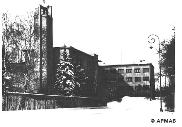 Building of SS Technical Academy. 1973 APMAB 19127