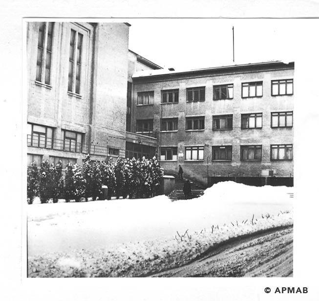Building of former Technical Academy where prisoners worked and lived. APMAB 19126
