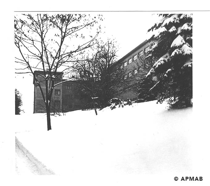 Building of former Technical Academy wwhere prisoner worked and lived. APMAB 19125