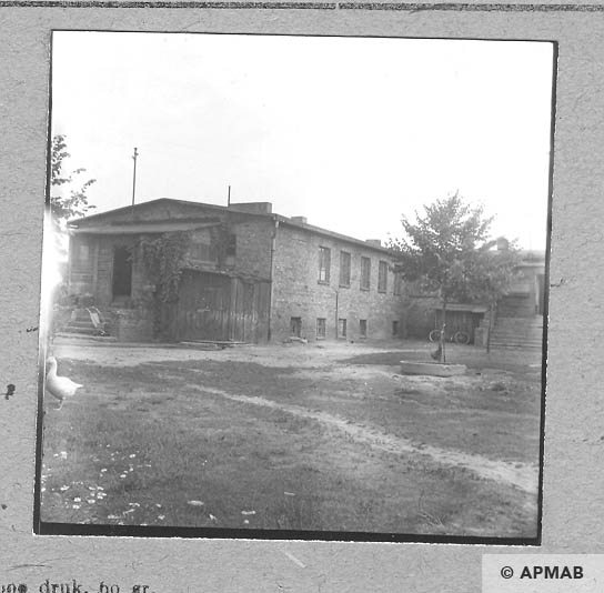 Building of laundry and storage. 1963 APMAB 5678