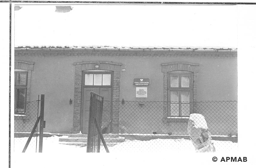 Building of penal comany for female prisoners.1961 APMAB 14051