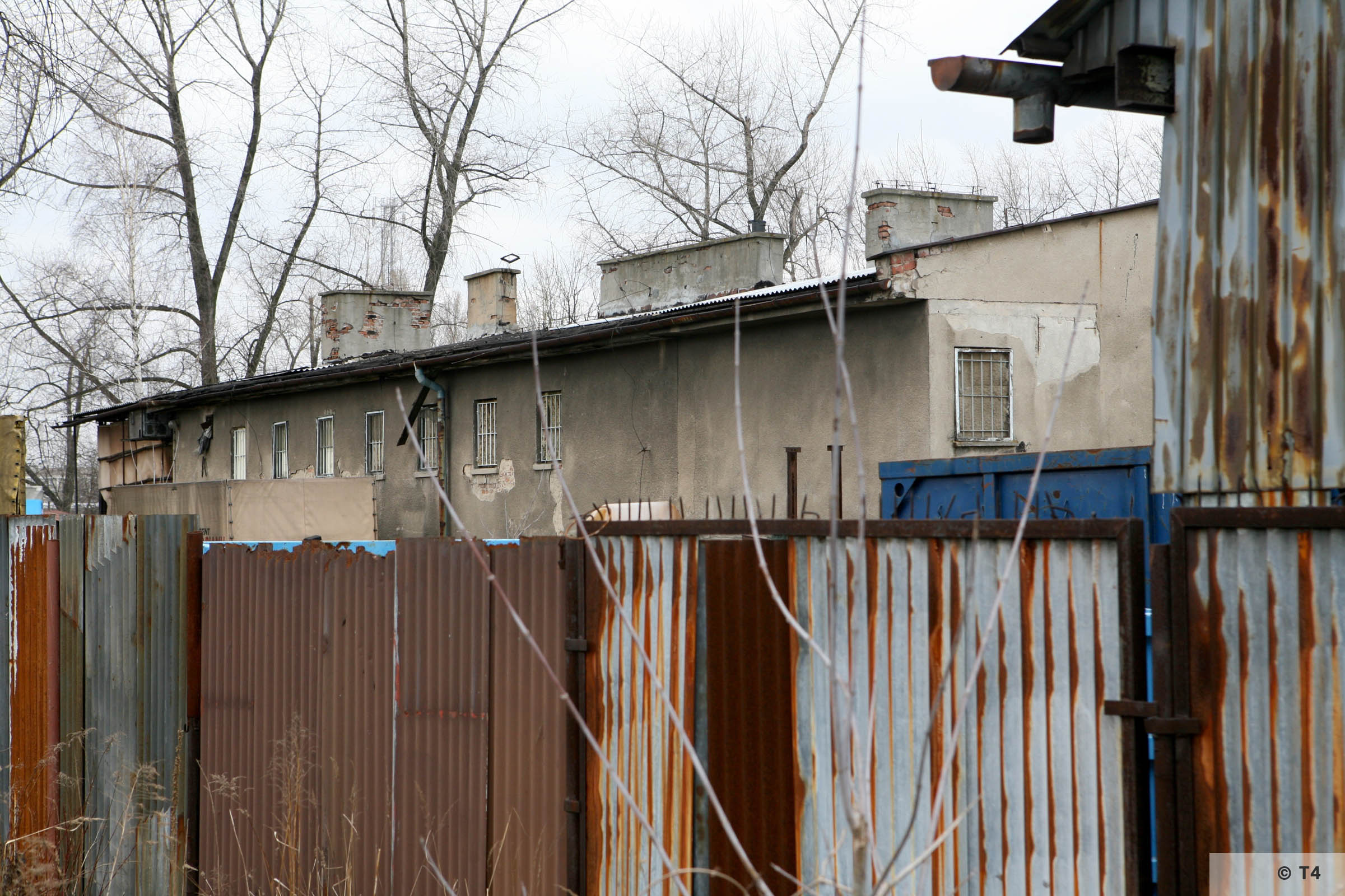 Building of the Wascherei and the cells for prisoners. 2007 T4 6215