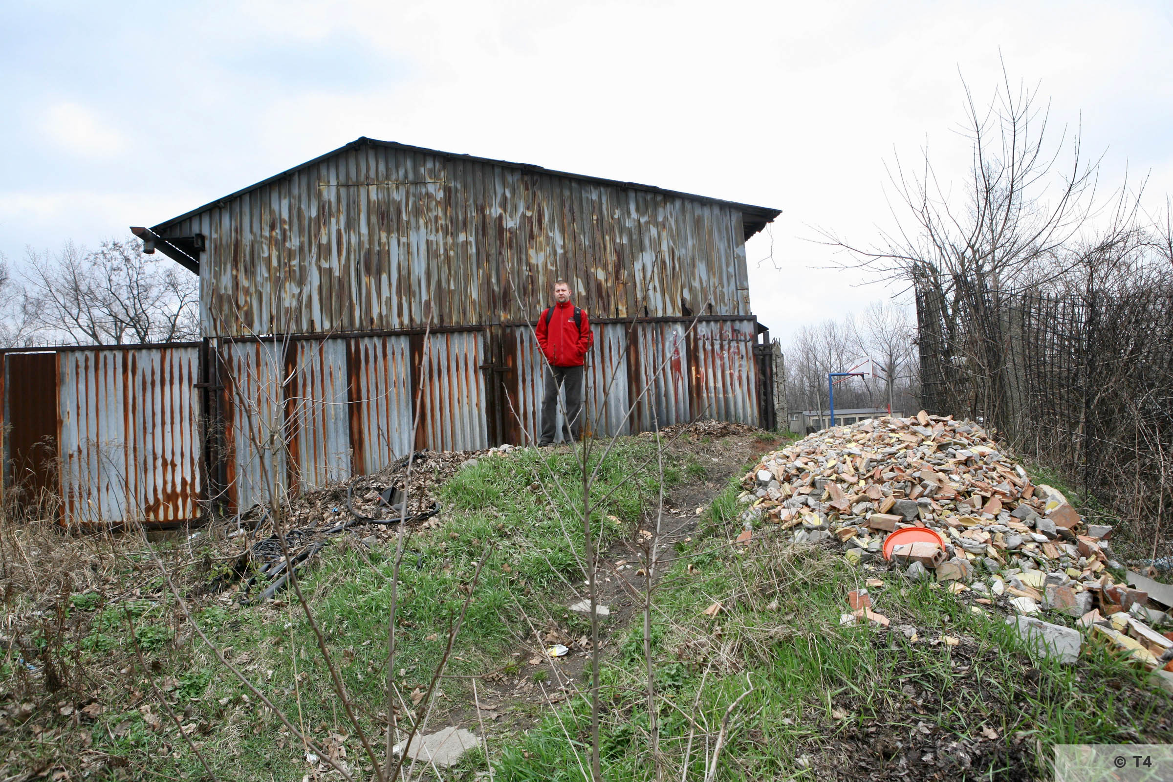 Building of the Wascherei and the cells for prisoners. 2007 T4 6220
