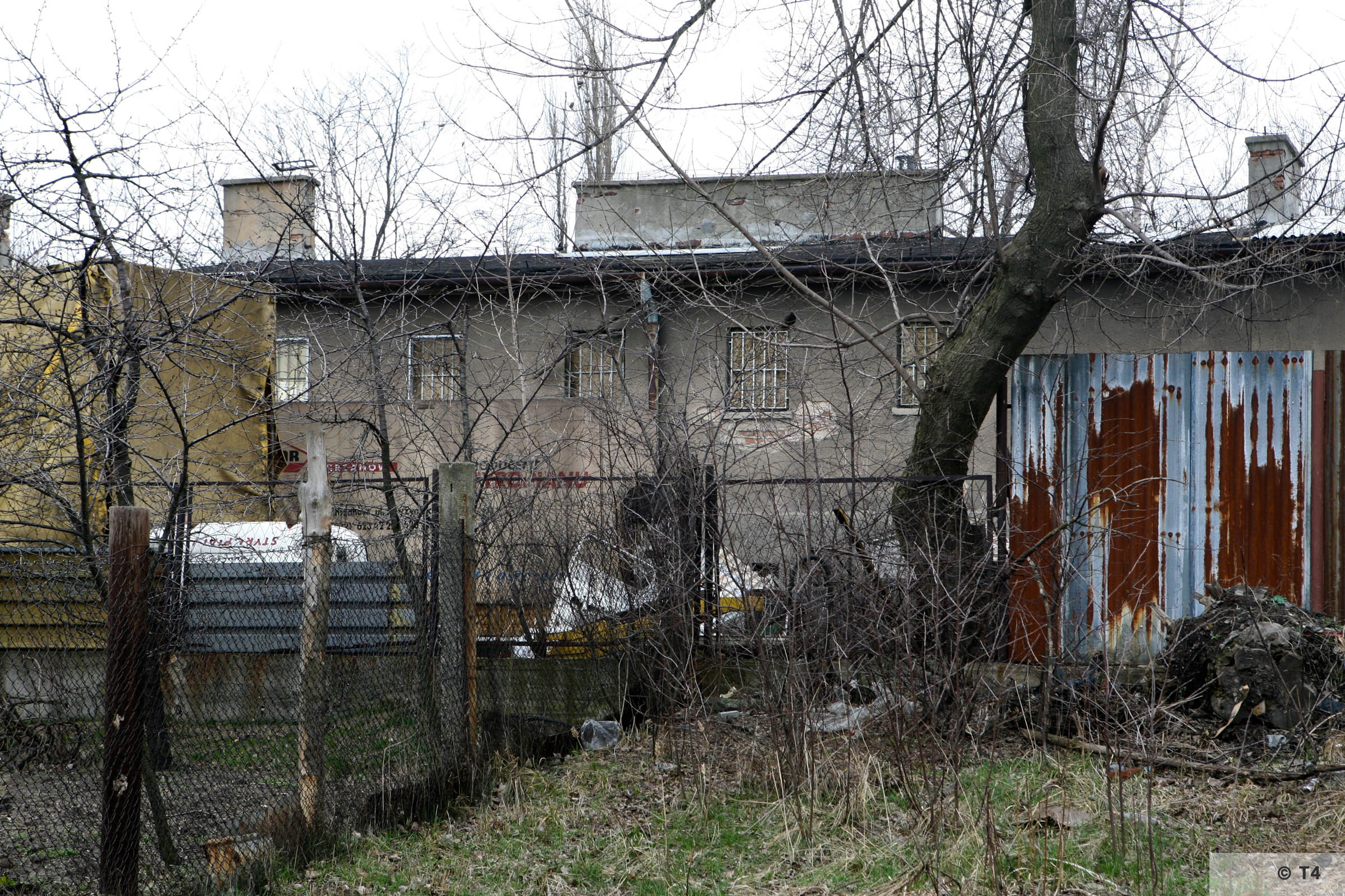 Building of the Wascherei and the cells for prisoners. 2007 T4 6225