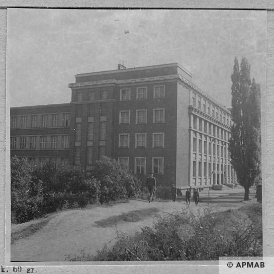 Building where prisoners from KL Auschwitz lived. APMAB 6498