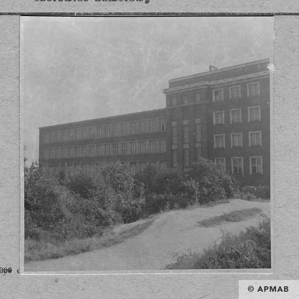 Building where prisoners lived and worked. 1964 APMAB .6499