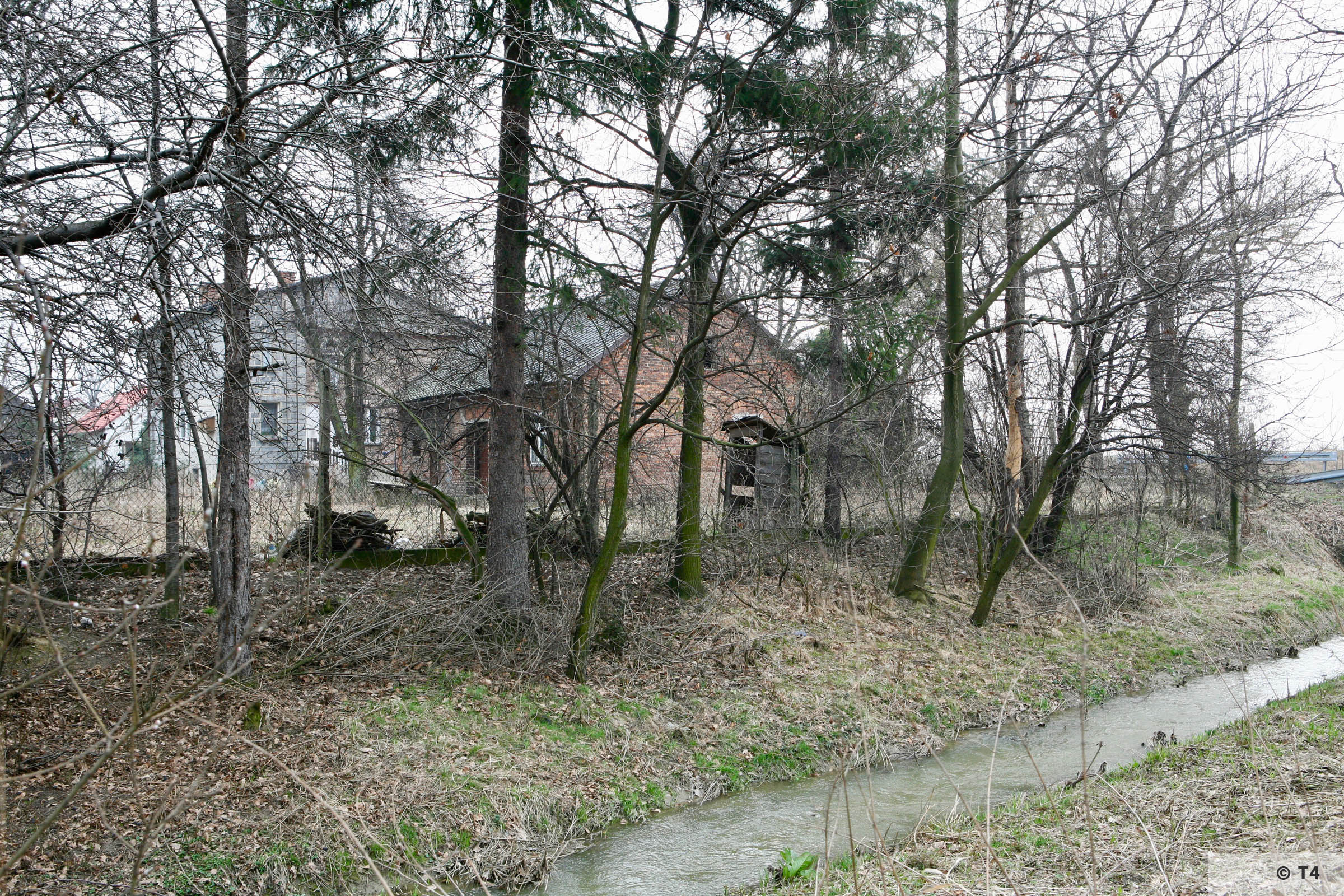 Buildings from the time of the former sub camp. 2007 T4 3677