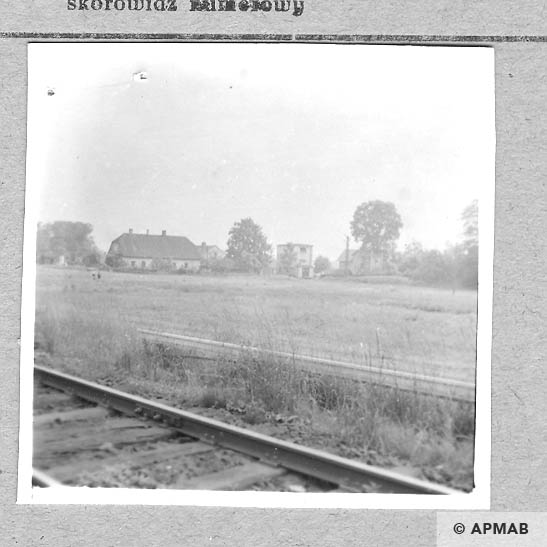Buildings of the camp. 1959 APMAB 4359