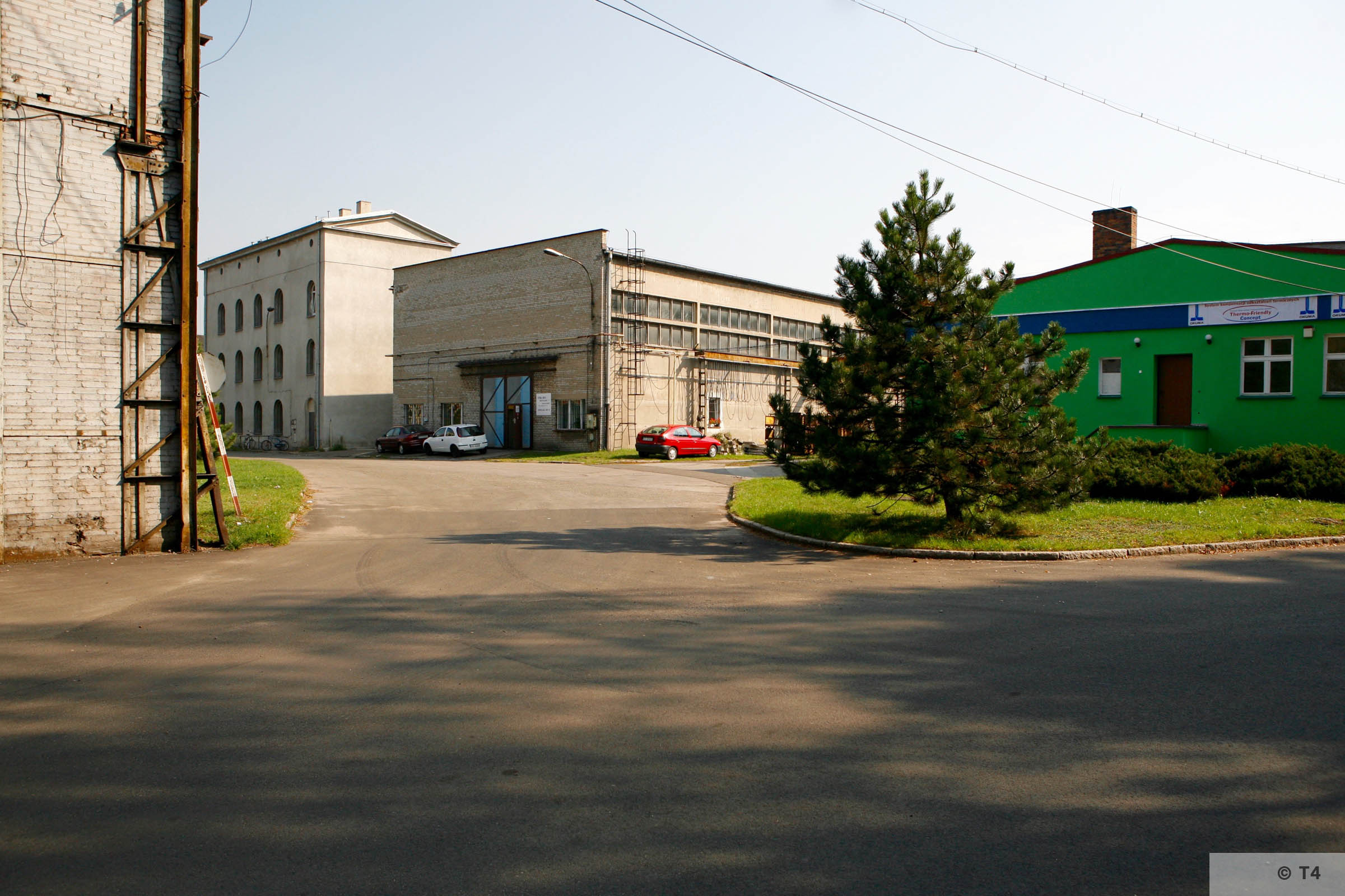Buildings of the former Gleiwitzer steel works. 2006 T4 1484
